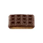 Gaufres vanille aux chocolat fantaisie